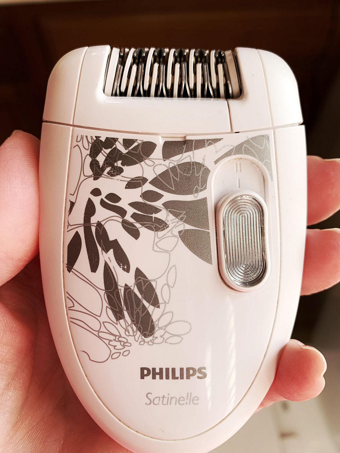 philips satinelle epilator with speed options
