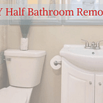 DIY Half Bathroom Remodel