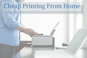 Cheap Printing From Home with Instant Ink