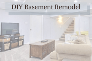 DIY Basement Remodel