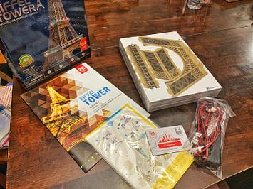 Eiffel tower Kit gift idea for teen girls