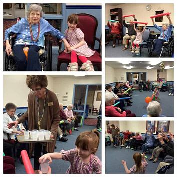 visit nursing homes