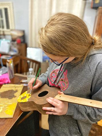 DIY Ukelele kit for crafty teen girls