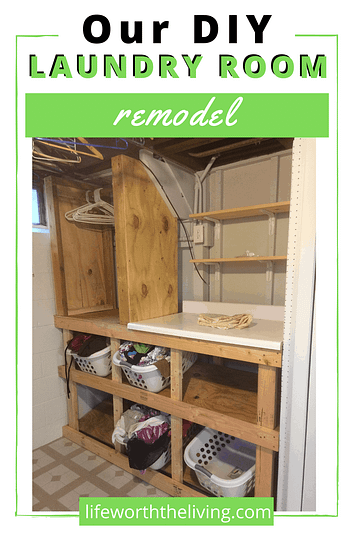 DIY Laundry Room Remodel