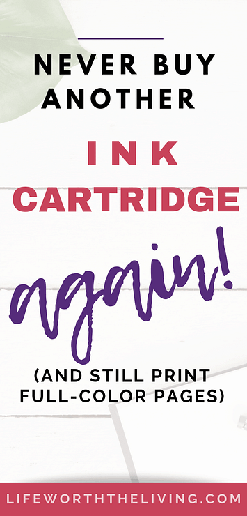 Print pages for cheap!