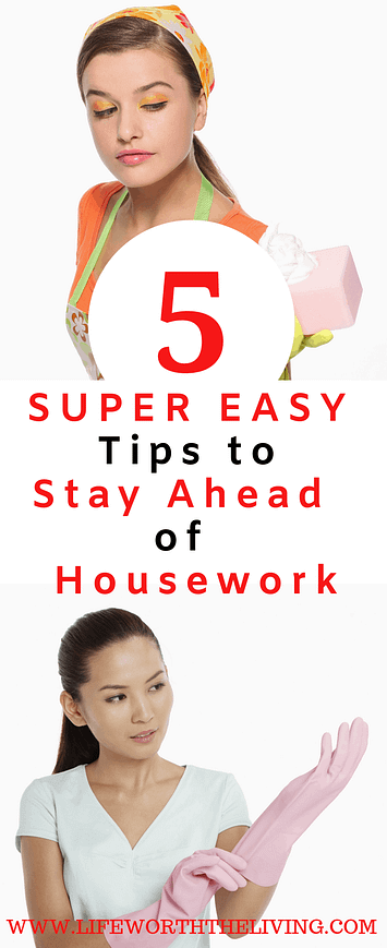 housework tips and tricks